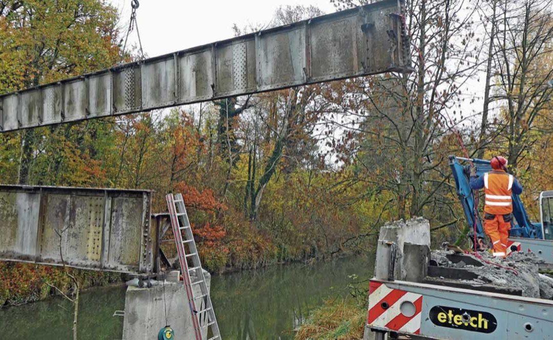 Brücke war über 100 Jahre alt